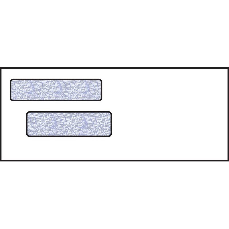 3 9 16 x 8 3 4 double window envelope 24 white wove for 16 x 24 window
