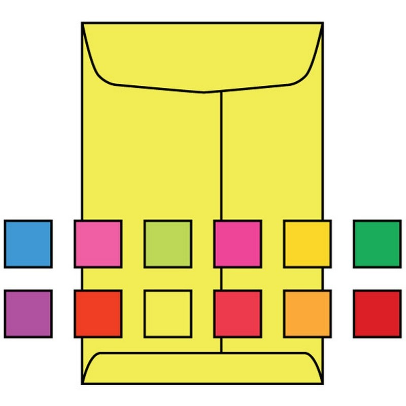 Open end catalog envelopes 10 x 13 28 brightly for 10 x 13 window envelope
