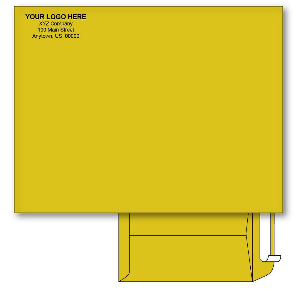 Custom printed 10 x 13 catalog envelopes peel seal for 10 x 13 window envelope