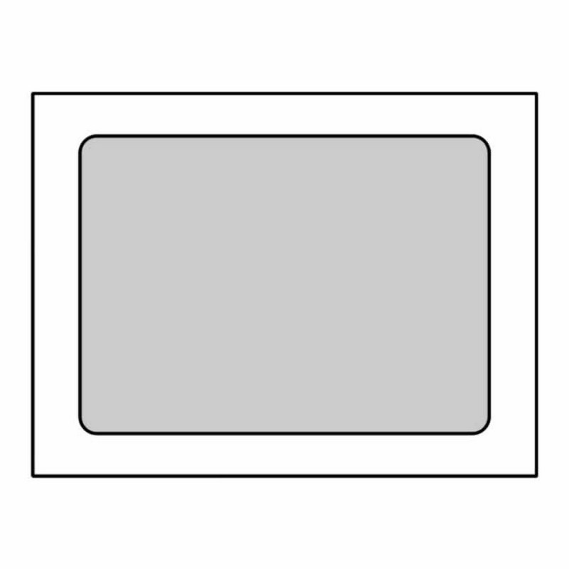 Poly window open side booklet envelopes 10 x 13 28 for 10 x 13 window envelope