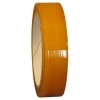 1/4  x 72 Yd Clear Cellophane Tape (Case of 144 Rolls) 1/4  x 72 Yd Clear Cellophane Tape is Used for gift wrapping, standard office mending, edge reinforcement, bag sealing (candy bags), and shade manufacturing (bonding wood to metal & fabric). This Cellophane Tape uses a Rubber Adhesive application. With a tensile strength of 22 lbs/in., 1.9 mil thick tape features 59 oz/in. of adhesion and an elongation of 22%. Cellophane Tape can also withstand temperatures ranging from 32° - 140° Fahrenheit. This is a Transparent film coated with a rubber adhesive. For use with desktop dispenser. Available in 36 yard on 1  core or 72 yard on 3  core.