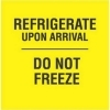 3  x 3  Black/Bright Yellow Refrigerate Upon Arrival Do Not Freeze Labels (500 per Roll) Labels Measure: 3  x 3 , 500 Labels per Roll, Label Color: Bright Yellow / Black, Paper Label Stock On Silicone Coated Release Paper, Made in USA, Labels Ship in 2-3 Days