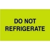 """Do Not Refrigerate Labels – 3"""" x 5"""" – 500 Per Roll <p>Our rectangular 3"""" x 5"""" Do Not Refrigerate labels, 500 per roll, are made in the U.S. with volume pricing starting at just two rolls and up to 30 rolls or more when you order at Supplies Shops. The fluorescent green background and black font on these Do Not Refrigerate stickers will set them apart from any other labeling or paperwork that comes with your packages and pallets, and you can also place a custom labels order for a different material or color if your team already has a similar label in use at their workplace.</p> <p>A premium-grade Do Not Refrigerate label prevents errors before they happen and helps you deliver on the quality you expect in your business. The Supplies Shops backs up our own quality with a proven, professional customer service team here to help with any questions on special handling labels or customized labeling solutions.</p>"""