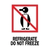 4  x 6  Refrigerate Do Not Freeze Labels (500 per Roll) Labels Measure: 4  x 6 , 500 Labels per Roll, Label Color: White / Red / Black, Paper Label Stock On Silicone Coated Release Paper, Made in USA, Labels Ship in 2-3 Days