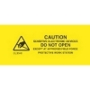 5/8  x 3  Caution Sensitive Electronic Devices Labels (500 per Roll) Labels Measure: 5/8  x 3  (0.625  x 3 ), 500 Labels per Roll, Label Color: Yellow / Black, Paper Label Stock On Silicone Coated Release Paper, Made in USA, Labels Ship in 2-3 Days