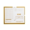 Bone, Yellow #109 - Category Insert Jackets, System I, Open End - 14-1/4  x 17-1/2  (Carton of 250) Bone, Yellow #109 - Category Insert Jackets, System I, Open End - 14-1/4  x 17-1/2  (Carton of 250) System I / Mailwell Compatible Thumb Cut Color Coded White Kraft Sub. 28 Compatible with IFC Product Number CI6125