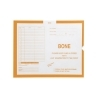 Bone, Yellow #115 - Category Insert Jackets, System II, Open End - 14-1/4  x 17-1/2  (Carton of 250) Bone, Yellow #115 - Category Insert Jackets, System II, Open End - 14-1/4  x 17-1/2  (Carton of 250) System II / Ames Compatible Thumb Cut Color Coded White Kraft Sub. 28 Compatible with IFC Product Number CI6215
