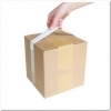 1  x 17  Tape Handles - Plain White, 10lb. Carry Weight Capacity (3000 per Case) <p>Tape handles are made of white 3 mil high performance polypropylene packaging tape with a rubber adhesive. Our 1  x 17  tape handles can carry up to 10 pounds. This tape has 3  adhesive strips on either end, giving the user 11  of handle space not coated with adhesive. Tape handles are packaged in a convenient dispenser box for easy storage in warehouses or at registers. They come 25 handles per pad, and 120 pads per case for a total of 3000 applications per case. They are popular within the retail industry at the point-of-purchase, where they are applied to items at the check-out register instead of placing items into plastic bags, contributing to the Go Green movement. Great for use in carrying bulky products, including sporting goods, shoe boxes, small appliances, toys, hardware items, pillows, and comforters. The high performance durable handle requires no heat, moisture or solvent activation, creating a convenient handle simply by attaching both sides to a box or package.</p>
