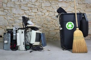 donate or recycle old computers and printers