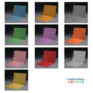 colored filing folders in 10 color options