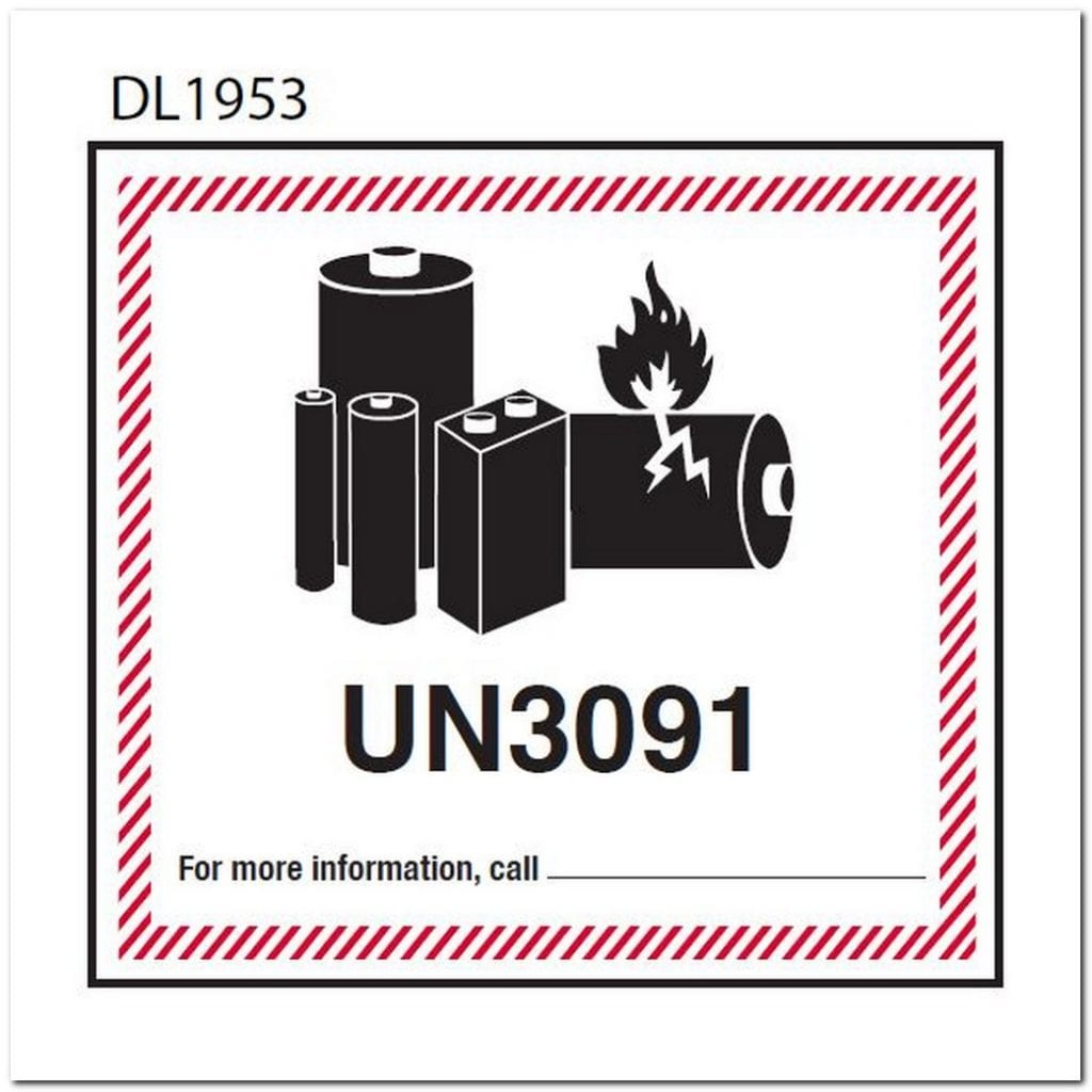 Mandatory Now New Lithium Battery Labels For 2019